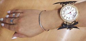 【送料無料】betsey johnson corset watch rare nib 85