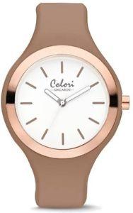 colori macaron sandpink bezel 44mm watch