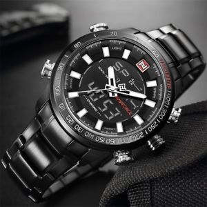 top luxury men sports wrist watch mens military waterproof watches men full