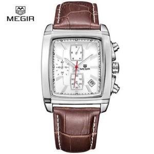 megir  casual brand watches men hot fashion sport wristwatch man chronograph