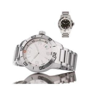 orologio da polso regolo mod r25613b quadrante bianco cinturino acciaio
