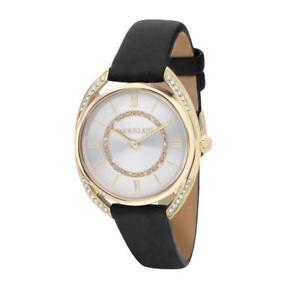 【送料無料】orologio donna morellato tivoli r0151137503 pelle nero gold dorato swarovski
