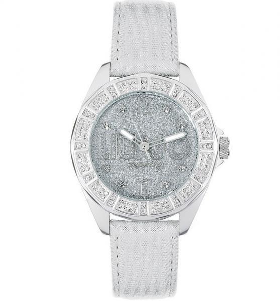 orologio donna liu jo luxury stardust vera pelle alluminio swarovski lady dd
