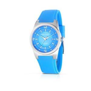 【送料無料】orologio donna piquadro po126bl silicone azzurro madreperla made in italy 50mt