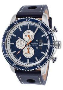 【送料無料】 mens red line speed rush chronograph navy blue rl304c03bls ret595