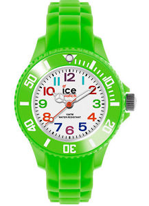 【送料無料】ice watch mini kinderuhr 000746 mngnms12 silikon green grn neu