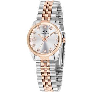 【送料無料】orologio chronostar luxury donna r3753241518 oro rosa bicolore watch acciaio