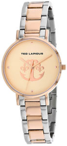 【送料無料】ted lapidus womens classic quartz two tone stainless steel watch a0742urpx
