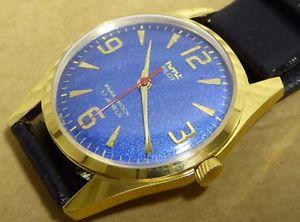 【送料無料】gents hmt pilot watch, good condition, working order, 17 jewels, 35mm case