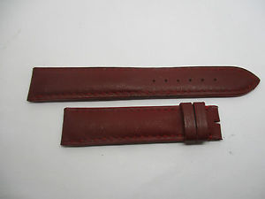 【送料無料】bracelet montre en cuir lisse bordeau doubl cuir t18 camille fournet