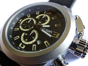 military styling 48mm canteen chronograph aviators steel boat sub tw u