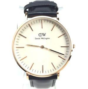 【送料無料】mens classic leather watch 0107dw mens classic sheffield leather date watch