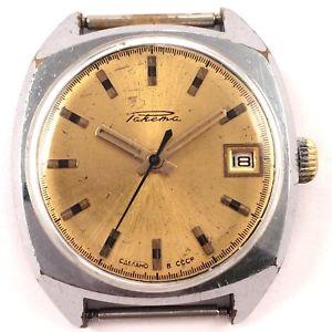 【送料無料】vintage soviet raketa windup watch ussr 1980s,*us seller* 1196