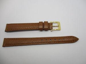【送料無料】bracelet montre en veau grain marron t12 marque camille fournet