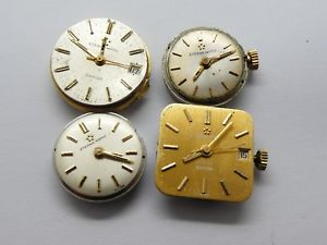 【送料無料】convolute eterna matic automatic lady 4 pics eta some working 798