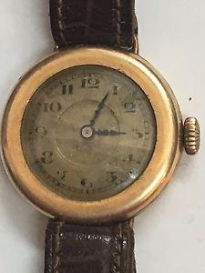 【送料無料】vintage montre mm genve plaqu or tbe fonctionne trs bien des annes 1920
