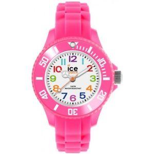 【送料無料】ice watch kids iceminipinkmini kinderuhr mnpkms12 analog silikon pink