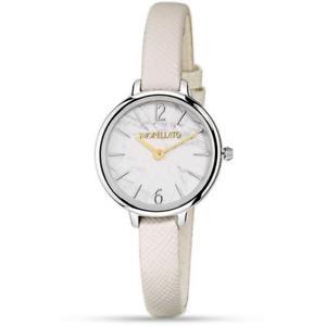 【送料無料】morellato orologio femminile petra r0151140513 pelle bianco originale slim chic