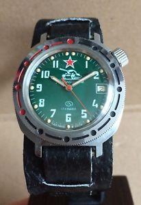 【送料無料】vostok komandirskie vintage watch uhr 1980s ussr cccp