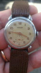 【送料無料】raro e stupendo orologio da polso inox teriam swiss made