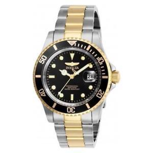 【送料無料】invicta mens pro diver quartz stainless steel two tone watch 26973