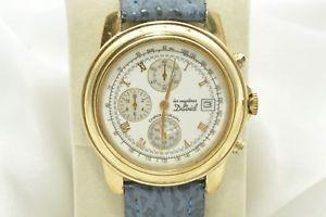 【送料無料】schner chronograph uhr von les mysteres de david mit quartzwerk