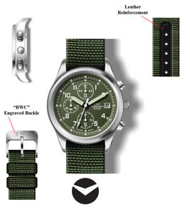 【送料無料】rwc301x1 rwc gents chronograph date display military watch