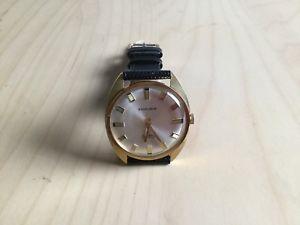 【送料無料】vintage gents wristwatch excalibur manual wind