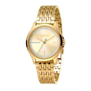 【送料無料】esprit es1l028m0075 womens stone set wristwatch