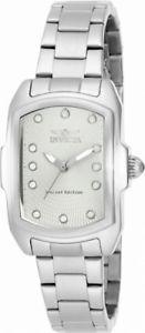 【送料無料】invicta lupah 15842 womens analog tonneau stainless steel watch