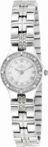 【送料無料】invicta wildflower 17061 womens round roman numeral crystal analog watch
