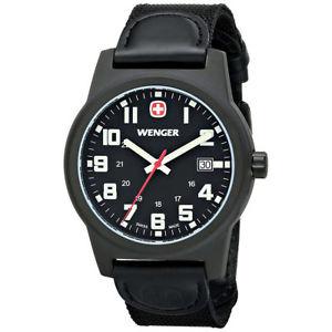 【送料無料】neues angebotwenger 72815 mens swiss made field classic watch 72815