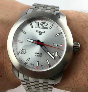 【送料無料】orologio invicta oversize diver myota watch 43mm uomo acciaio fondo magazzino