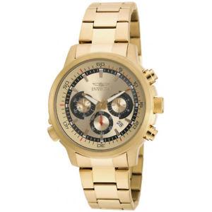 【送料無料】invicta specialty 19240 stainless steel chronograph watch
