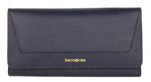 【送料無料】samsonite damen geldbrse saffiano ii slg midn blue 666181549