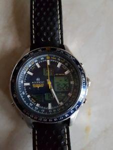 【送料無料】mens accurist skymaster chronograph watch