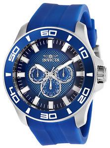 【送料無料】invicta pro diver 28003 silicone chronograph watch