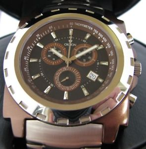 【送料無料】croton duration chronograph daydate watch retail 1000