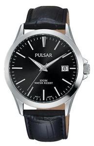 【送料無料】pulsar mens quartz leather watch ps9457x1 rrp 6995 our 5595