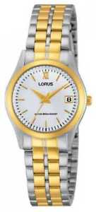 【送料無料】lorus ladies classic two tone rh770ax9 watch