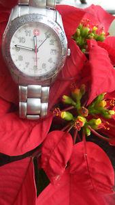 【送料無料】wenger watch genuine swiss 100m date box 0970457 christmas