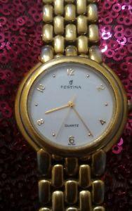 【送料無料】orologio donna festina anni 90 dorato
