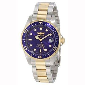 【送料無料】invicta mens 8935 pro diver collection twotone stainless steel watch w link