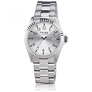 【送料無料】orologio breil tribe classic elegance uomo ew0198 acciaio watch silver nuovo