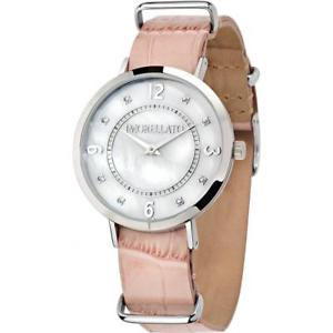 【送料無料】orologio donna morellato versilia r0151133508 vera pelle rosa bianco swarovski