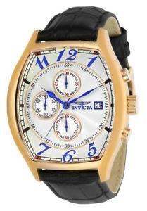 【送料無料】invicta specialty 14331 mens tonneau analog chronograph date watch