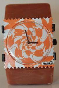 【送料無料】stamps zifferblatt orange fever 1511019 stamps belta pearl gold basic