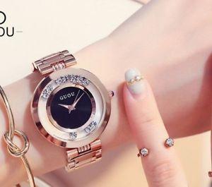 【送料無料】wrist watches womens fashion ladies bracelet rhinestone casual accessories gifts