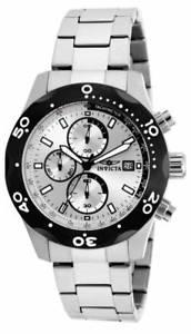 【送料無料】invicta mens specialty quartz chronograph stainless steel watch 17749