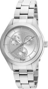 【送料無料】invicta womens angel quartz chronograph 50m stainless steel watch 21693